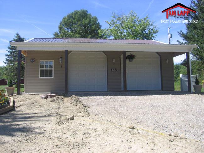 Residential Polebarn Building Garrettsville - Tam Lapp