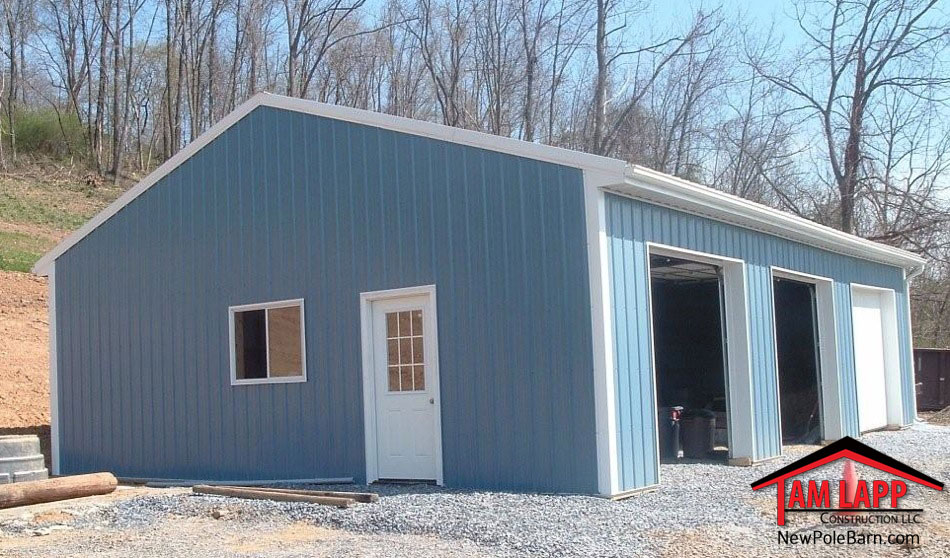Residential Polebarn Building Harrisburg Tam Lapp