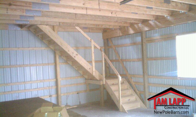 Residential Polebarn Building Fairhaven Tam Lapp