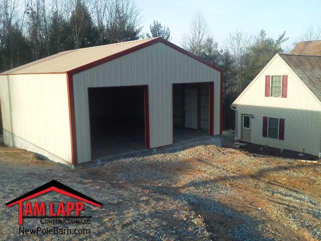 Residential polebarn building delta tam lapp for Residential pole barn
