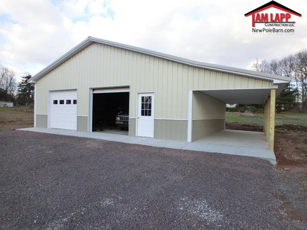 Residential Polebarn Building Harleysville Tam Lapp
