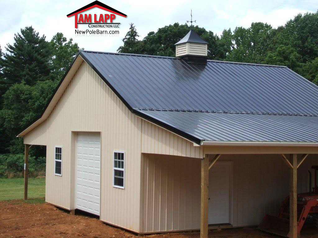 Lean To Shed Pole Barn Construction New York