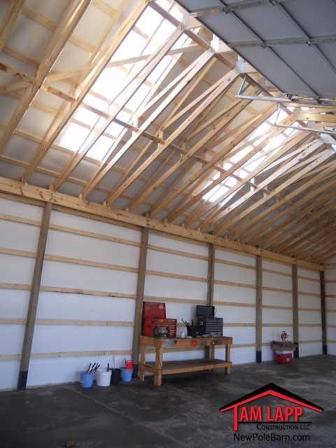 Residential Polebarn Building Culpeper - Tam Lapp