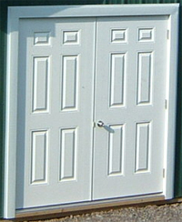 pole barn Double Door