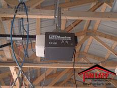 Pole building Electric Garage Door Opener