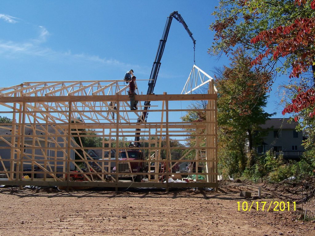 Pole Barn Post Frame Process Tam Lapp Construction Llc