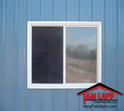 Pole Barn Windows Doors pole building Insulated Vinyl Slider