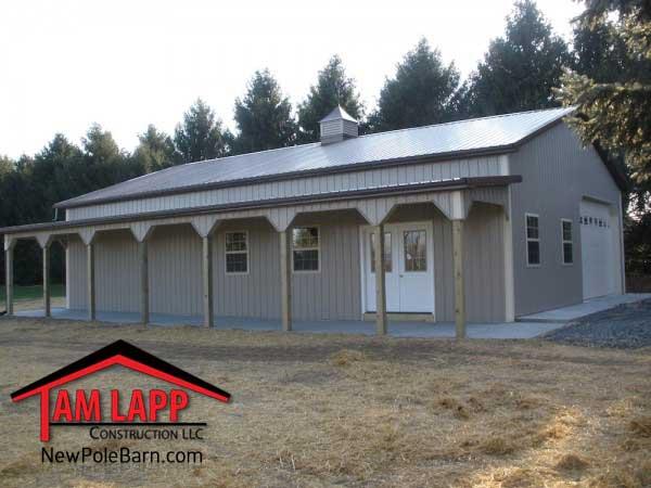 Polebarn Building Nazareth Pennsylvania Tam Lapp