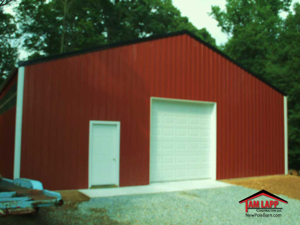 Commercial Garage Polebarn Building Perryville