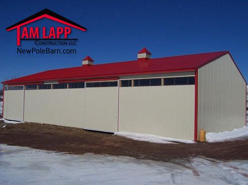 Polebarn Building Pleasant Mount Tam Lapp Construction Llc