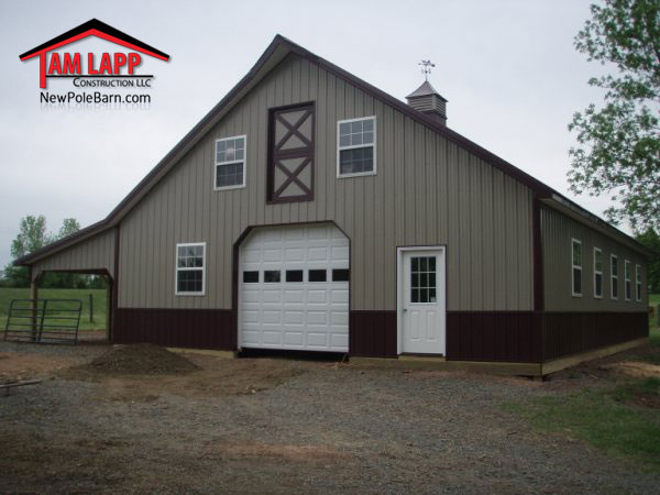 Horse Barn Garage on House Plans Detached Garage With Apartment
