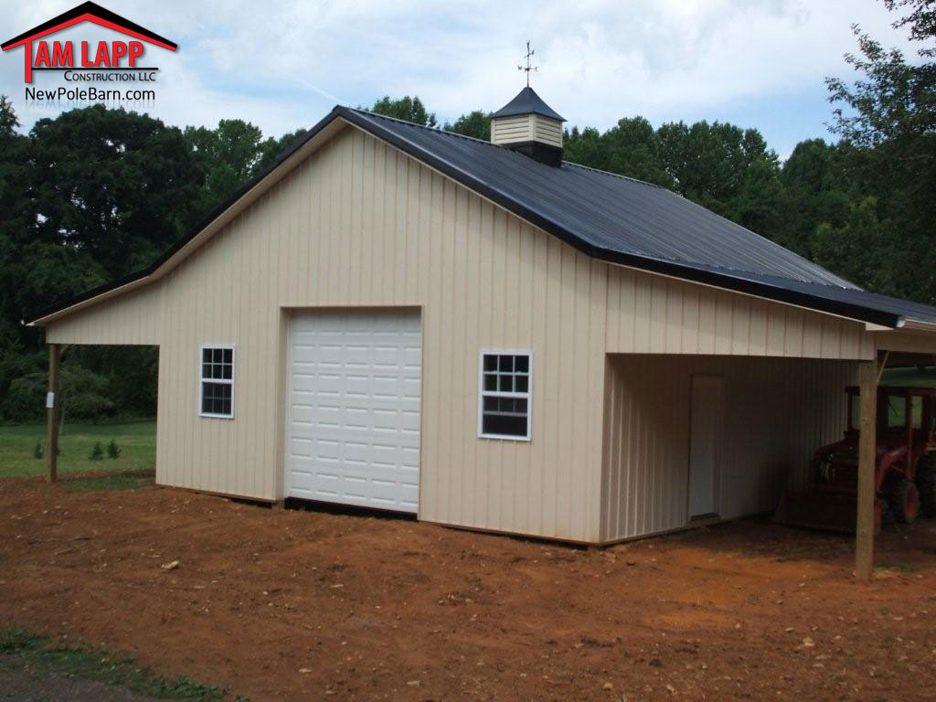 Residential polebarn building havre de grace tam lapp for How to design a pole barn