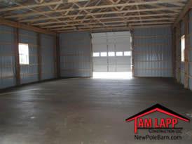 Pole Building Smooth Finish Concrete Floor