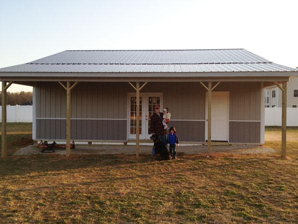 Residential Polebarn Building Pittsgrove