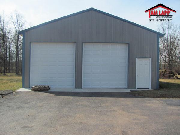Residential polebarn building gilbertsville tam lapp for Residential pole barn