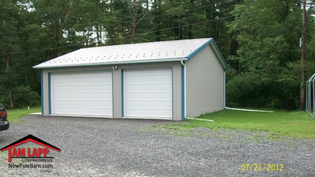 Residential Polebarn Building in Martinsville, Pennsylvania