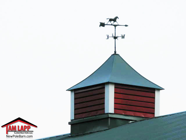 Cupola with weathervane option