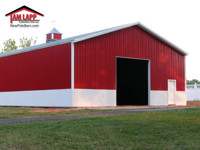 Commercial Polebarn Building Montpelier, VA