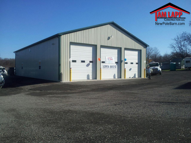 Commercial Pole Building in Douglassville, PA