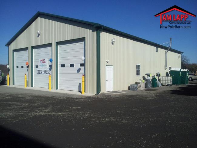 Commercial Pole Building Douglassville, PA
