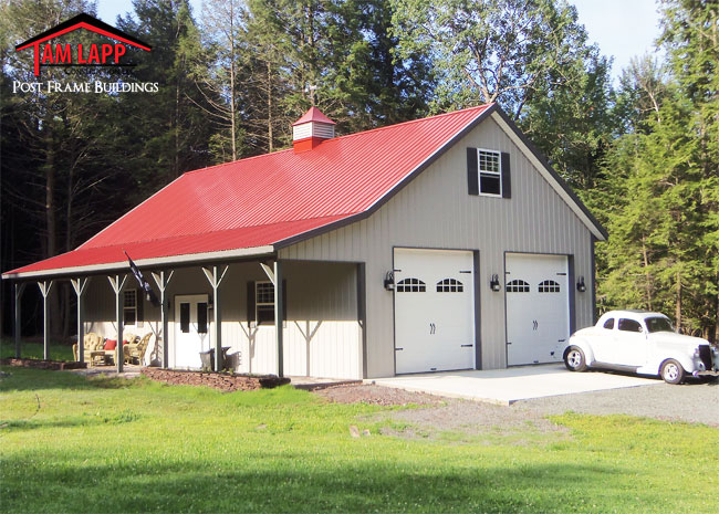 Residential pole buildings pole barn Cost of building a house in pa