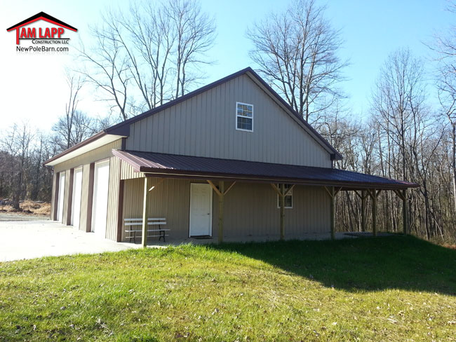 Residential Polebarn Building in Conowingo Maryland