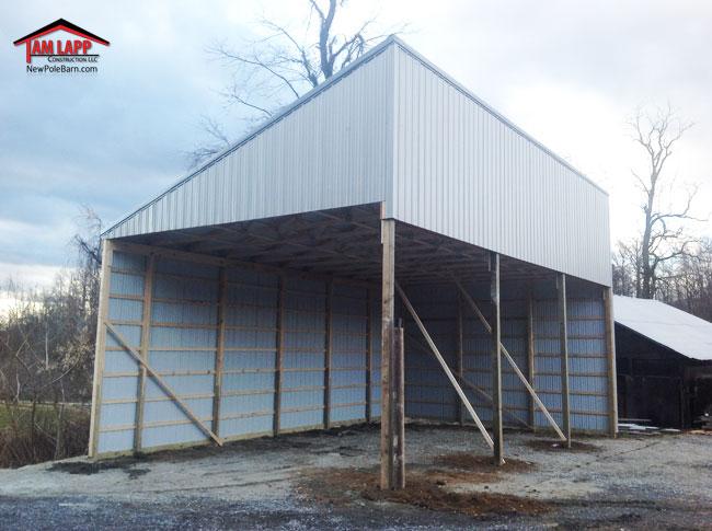 Agricultural Pole Building Gardners, Pennsylvania