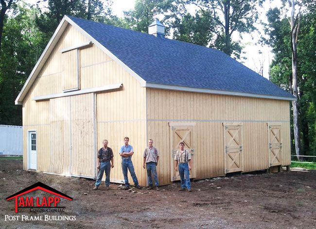 Horse Barn Building Bluemont, Virginia