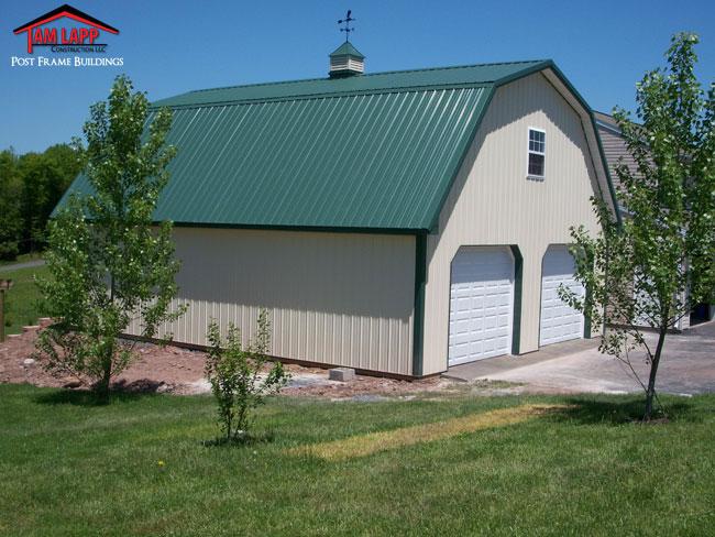 Residential polebarn building ringtown tam lapp for Residential barns
