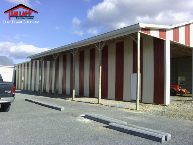 Commercial Polebarn Building Wardensville, West Virginia