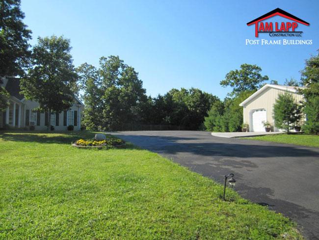 Residential Polebarn Building Cross Junction, Virginia