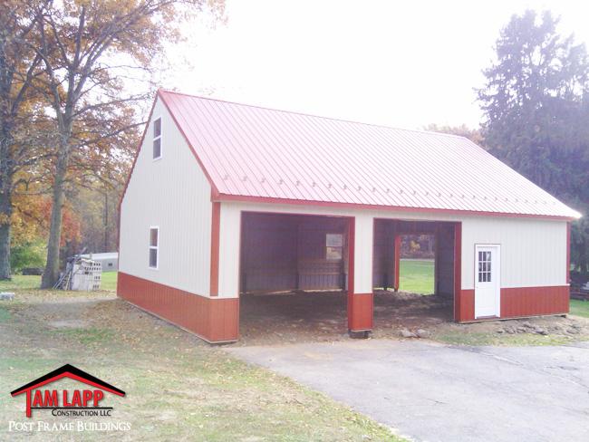Residential Polebarn Building Hummelstown, Pennsylvania