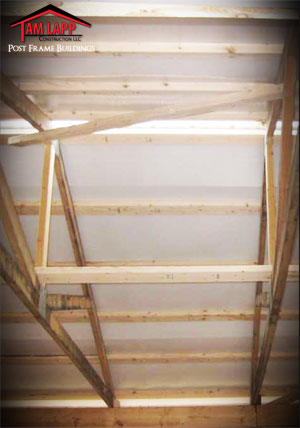 Pole Building Insulation Pole Building Double Bubble Roof Insulation