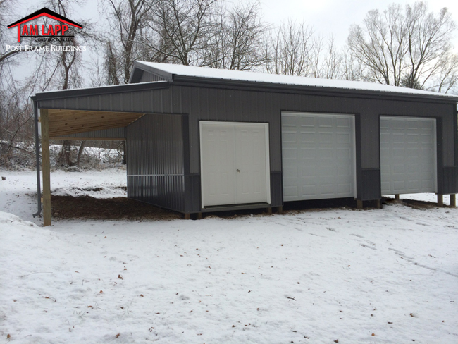 Residential Polebarn Building Elverson, Pennsylvania