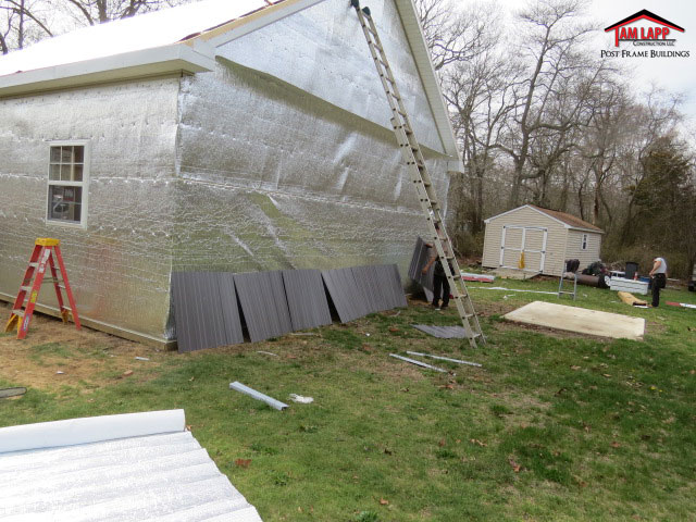 Double Bubble Roof & Wall Insulation