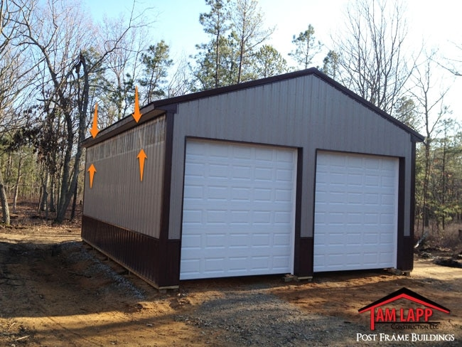 Pole barn Clear Sidelight Panels