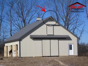 Pole Building Misc Design Options Tam Lapp Construction Llc