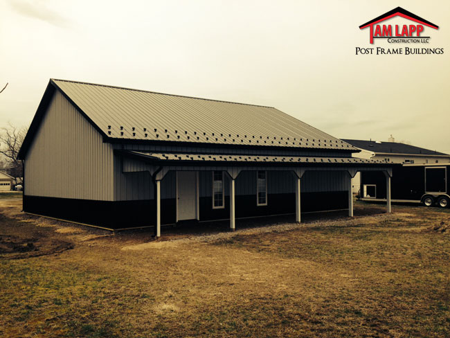 Residential Polebarn Building Landisville Tam Lapp