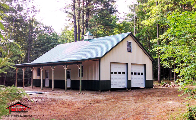 Residential polebarn building thurman tam lapp for Pole barn design ideas