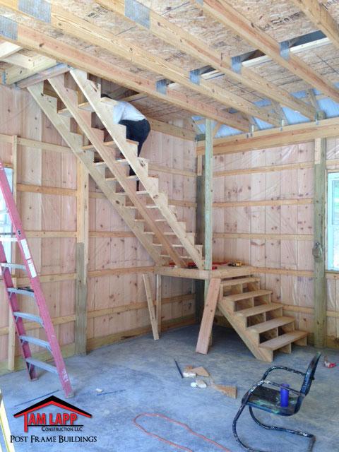 Residential Pole Barn Building Fulks Run Tam Lapp Construction Llc