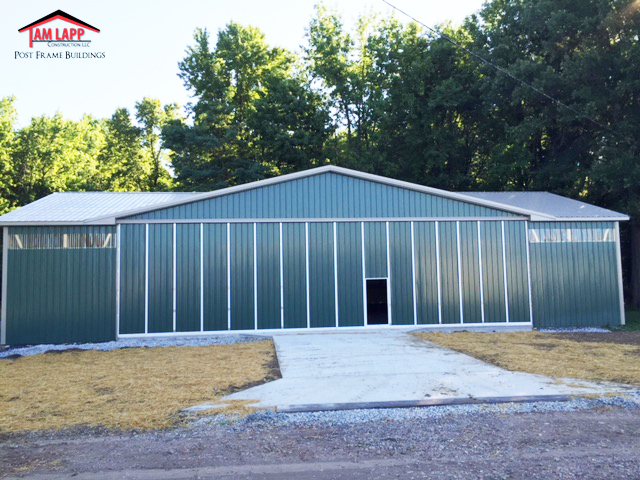 Commercial Airplane Hangar Pole Building in Essex Maryland