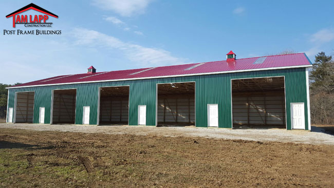 Commercial Pole Building in Yaphank, New York