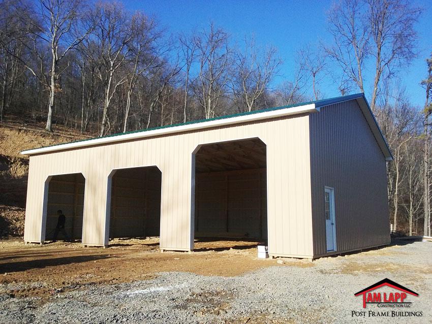 Residential Pole Building Keyser, West Virginia