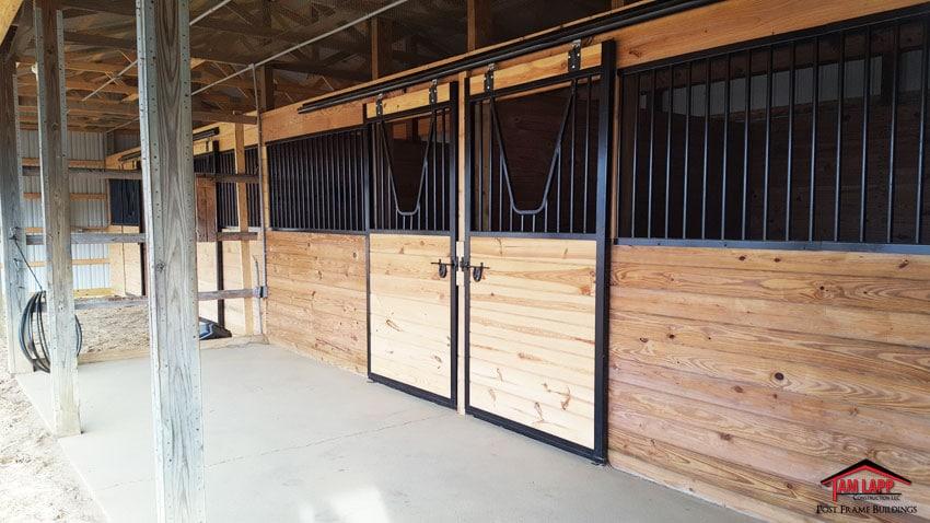 Garage Amp Horse Barn In Pittsgrove New Jersey 9 Tam Lapp