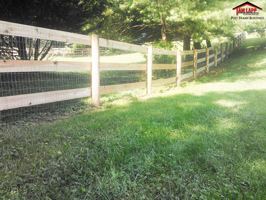 1x6 Wood Board Fencing