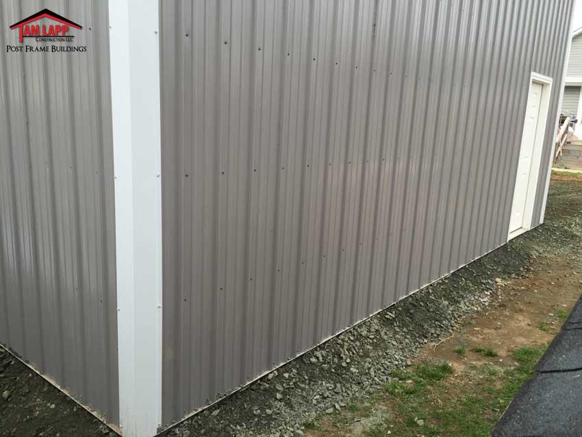 Residential Pole Building Essex Maryland Tam Lapp