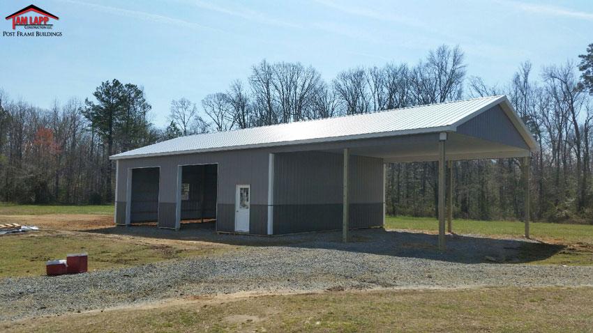 Pole Barn Porch Options
