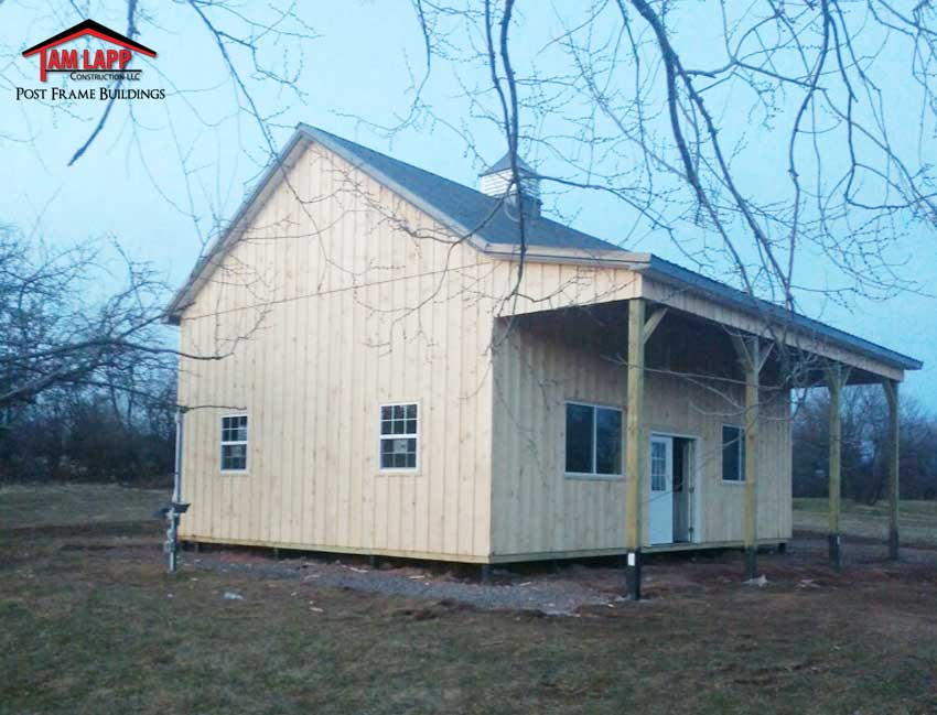 Residential Pole Building Harleysville, Pennsylvania