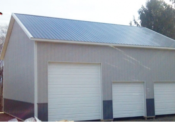 Commercial Polebarn Building in Blairstown New Jersey