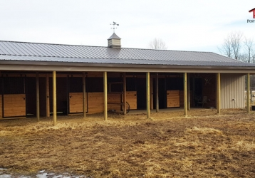 Horse Barn Pole Building in Pittsgrove, New Jersey